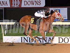 Unreachable Star in the 2011 William Henry Harrison Stakes.
