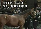 Keeneland September: Hip 523 in the Sale Ring