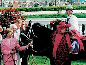 Grindstone Elevated Louisiana Derby in 1996