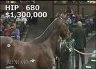 Keeneland Sept Yearling Sale: Hip 680 in the Ring