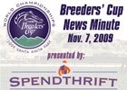 Breeders' Cup News Minute: Nov. 7