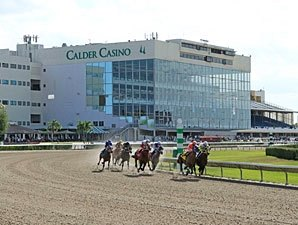 Calder Meeting Gulfstream Head-On Over Dates