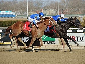 Godolphin Entrymates Run One-Two in Excelsior