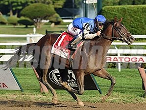 I Spent It wins the Saratoga Special Stakes.