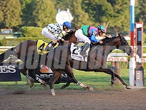 Itsmyluckyday won the Woodward Stakes on Aug. 30.