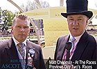 Royal Ascot Preview - Matt Chapman Previews Day 2
