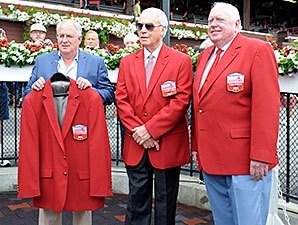 Jerkens, Lukas, Durkin Honored at Saratoga