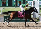 Palace Malice Runs Off With N.O. Handicap
