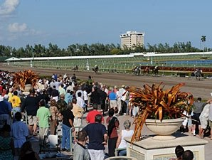 $5.7M Wagered on Opening Day at Gulfstream