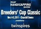 THS: 2011 Breeders' Cup Classic