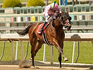Fashion Plate Serves Up Santa Anita Oaks Win