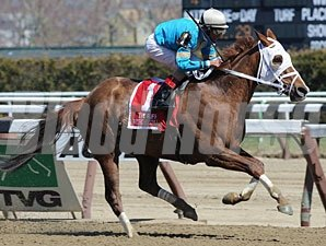 Withgreatpleasure won the 2013 Ruffian.