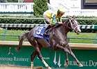 Texas-Bred Promise Me Silver Wins Debutante