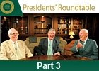 Keeneland Presidents Round Table: Part 3
