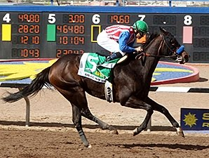 Awesome Baby Wins Sunland Oaks With Authority