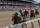 On-Track Wagering Stable at Belmont Park Meet