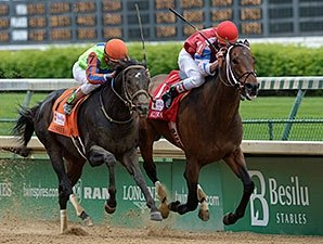 Moonshine Mullin Springs Alysheba Upset