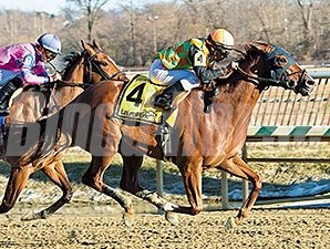 My Wandy's Girl takes the Barbara Fritchie at Laurel Park.