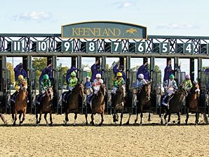Keeneland: No Plans to Ditch Polytrack