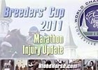 BC 2011 Marathon Injury Update