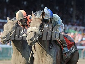 Sweet Reason and Irad Ortiz Jr take the Test at Saratoga.