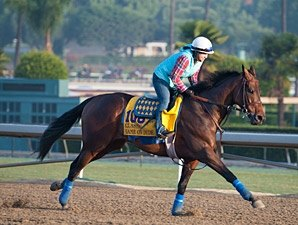 Baffert Duo Drill for Weekend Stakes