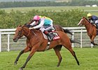 Midday Completes Hat Trick in Nassau Stakes