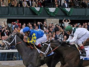 Pletcher Duo One-Two in Blue Grass
