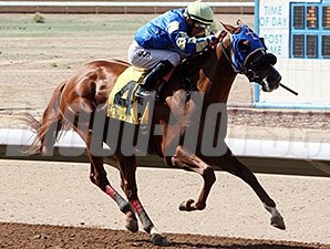 Alsono wins the 2014 SunRay Park and Casino Handicap.