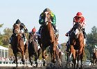 Maiden Dullahan Shocks Breeders' Futurity