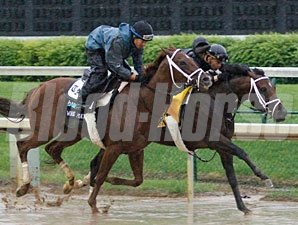 Stay Thirsty and Bridgetown work at Churchill Downs.