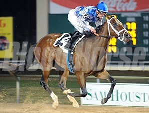 Chief Of Affairs wins the 2009 Spirit of Texas Stakes.