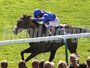 Blue Bunting wins the 1,000gns