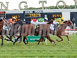 Leading Astray wins the 2012 Pucker Up.