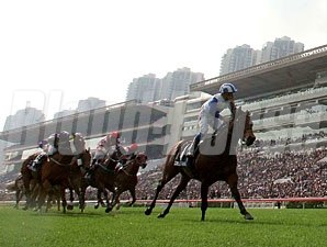 Lord Kanaloa wins the Hong Kong Sprint.
