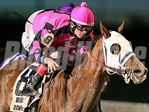 Boss Barney's Babe wins the 2013 Orleans Stakes.
