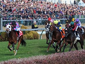 Chamberlain Bridge Gets Up to Win Turf Sprint