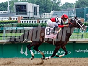 Dubai Majesty wins the 2010 Winning Colors.