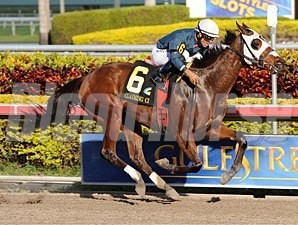 Starship Truffles wins the 2012 Claiming Crown Glass Slipper.