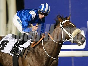 Soft Falling Rain wins the 2013 United Arab Emirates Two Thousand Guineas.