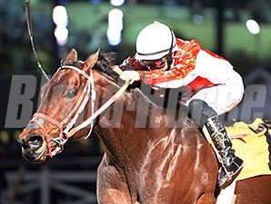 F J Uncle Vic wins the 2015 Star of Texas Stakes.