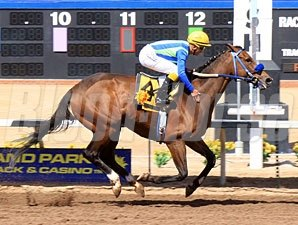 Twelve Twenty Two wins the 2012 Harry W. Henson Handicap.