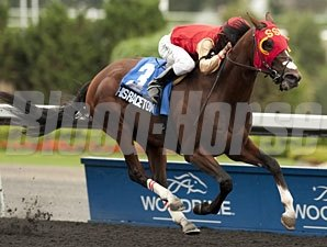 His Race to Win wins the Woodbine Ontario Derby.