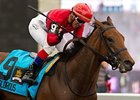 Inglorious Heads Doubledogdare at Keeneland