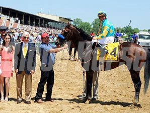 Paynter Alllowance Win at Pimlico, May 19, 2012.