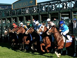Keeneland Fall Meet Posts Gains