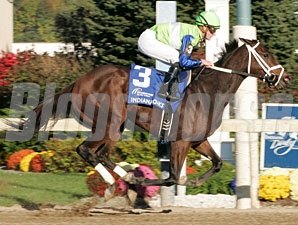 Juanita wins the 2011 Indiana Oaks.
