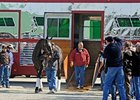 Top Mare Zenyatta Arrives at Churchill Downs