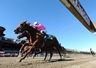Sweet Lulu Breaks From Rail in La Brea Clash