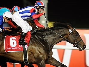 Victoire Pisa Wins Dubai World Cup for Japan